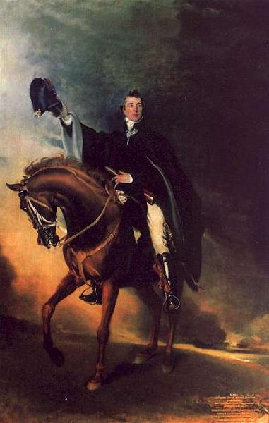 Sir Thomas Lawrence The Duke of Wellington oil painting image