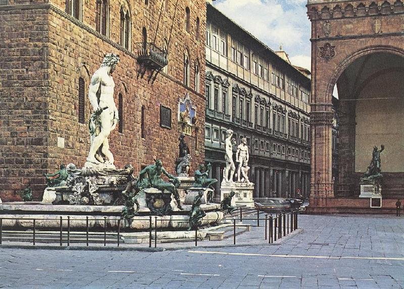 AMMANATI, Bartolomeo The Fountain of Neptune  lll oil painting image