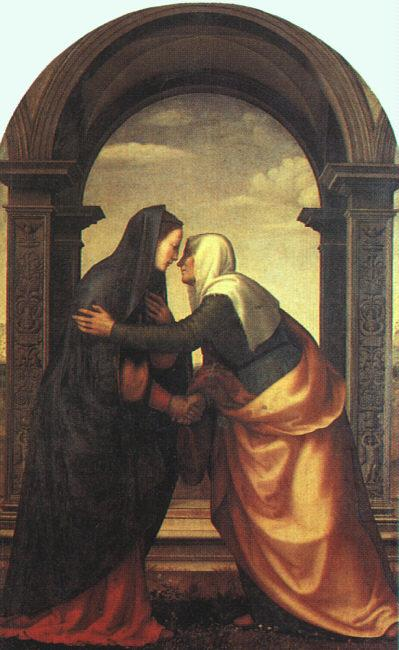 Albertinelli, Mariotto The Visitation oil painting image