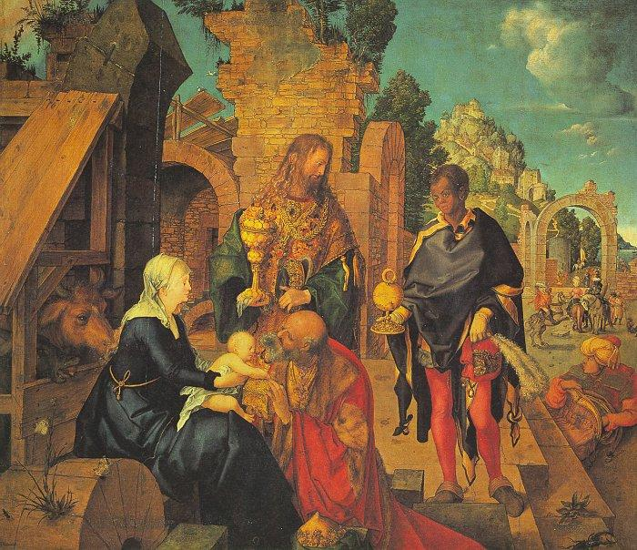 Albrecht Durer The Adoration of the Magi_z oil painting image