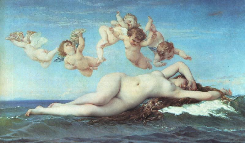 Alexandre  Cabanel The Birth of Venus oil painting image