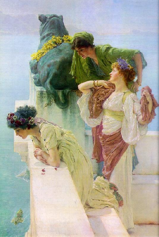 Alma Tadema Advantageous Position oil painting image