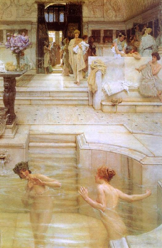 Alma Tadema A Favorite Custom oil painting image