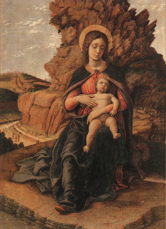 Andrea Mantegna Madonna and Child oil painting image