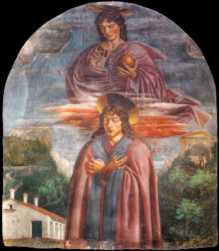 Andrea del Castagno St Julian and the Redeemer oil painting image