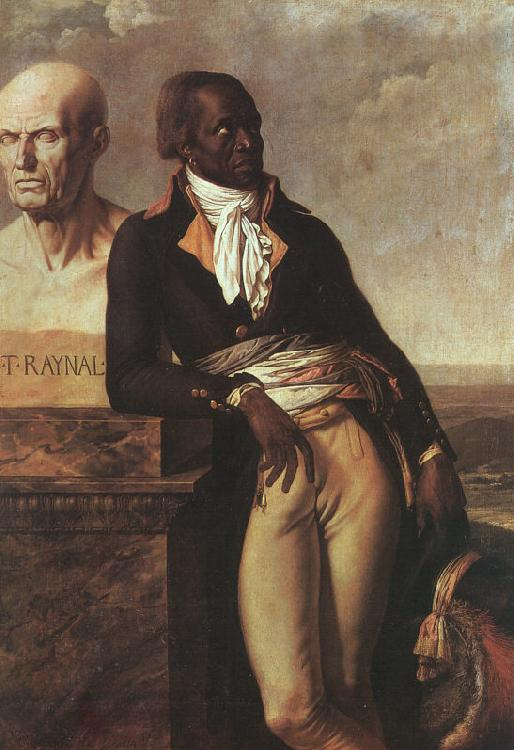 Anne-Louis Girodet-Trioson Portrait of Jean-Baptiste Belley oil painting image
