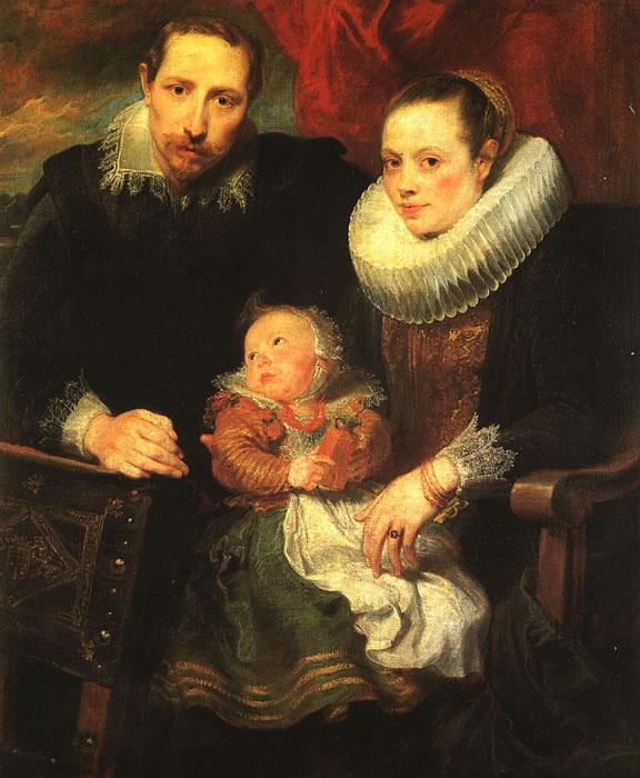 Anthony Van Dyck Family Portrait_5 oil painting image