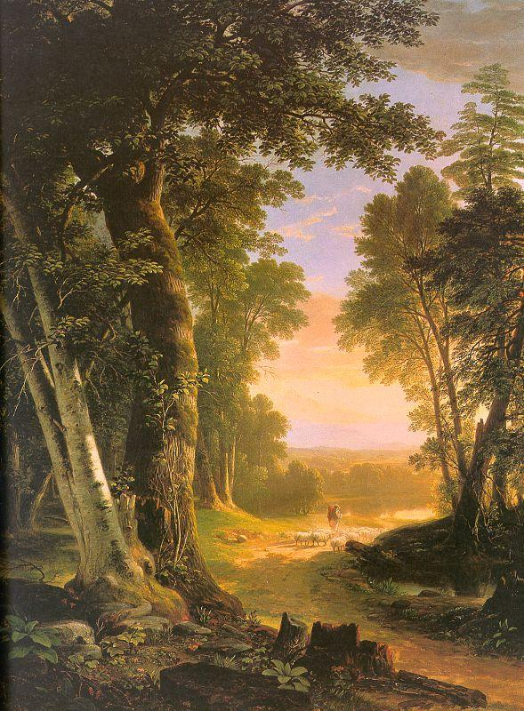 Asher Brown Durand The Beeches Germany oil painting art