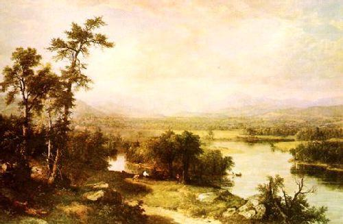 Asher Brown Durand White Mountain Scenery Germany oil painting art