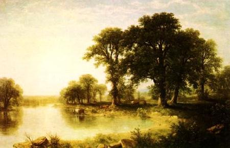 Asher Brown Durand Summer Afternoon Germany oil painting art