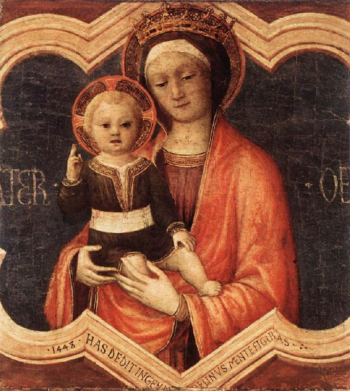 BELLINI, Jacopo Madonna and Child fgf oil painting image