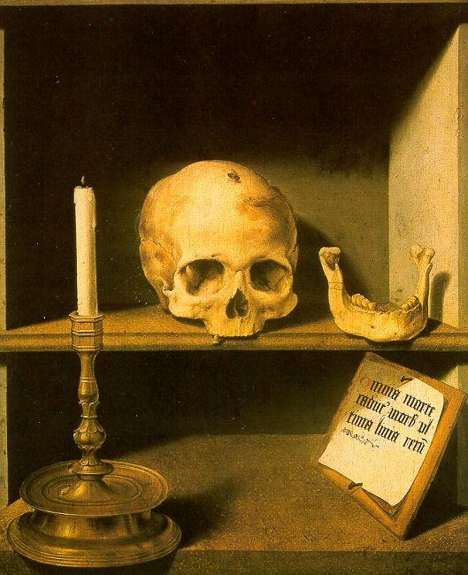 Barthel Bruyn Vanitas Still Life oil painting image