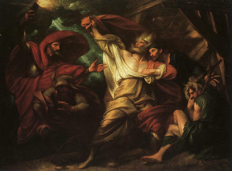 Benjamin West King Lear Germany oil painting art