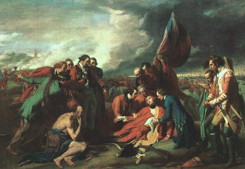 Benjamin West The Death of Wolfe Germany oil painting art