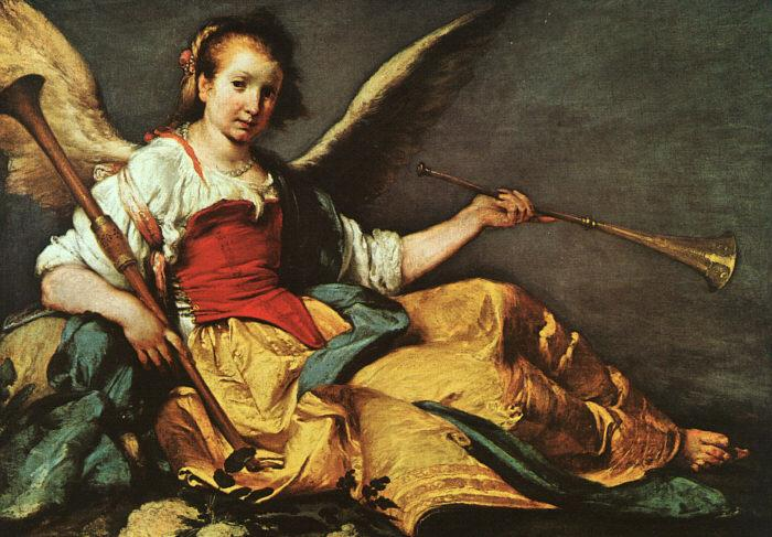 Bernardo Strozzi An Allegory of Fame Germany oil painting art
