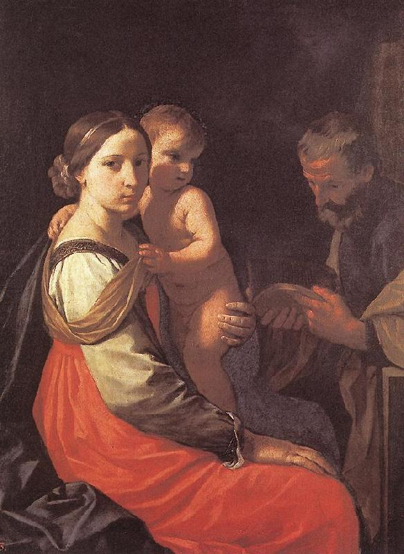 CANTARINI, Simone Holy Family dfsd oil painting image