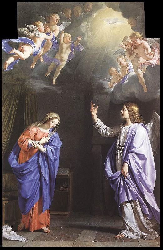 CERUTI, Giacomo The Annunciation kljk oil painting image