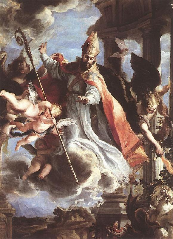 COELLO, Claudio The Triumph of St Augustine df oil painting image
