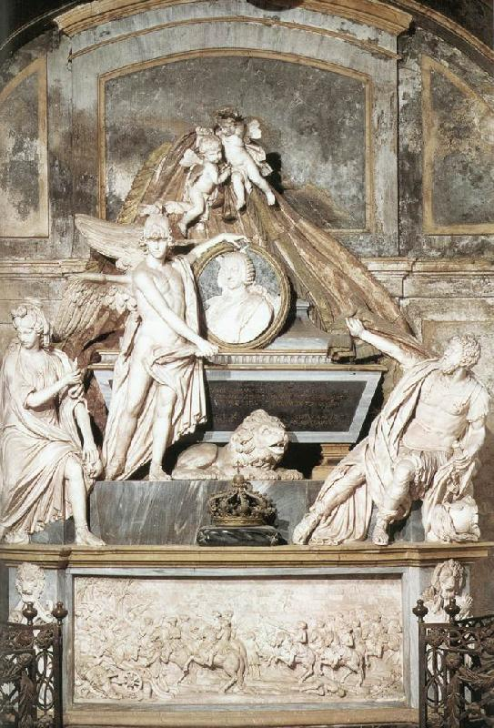 COLLINO, Filippo Tomb of Carlo Emanuele III dfg oil painting image