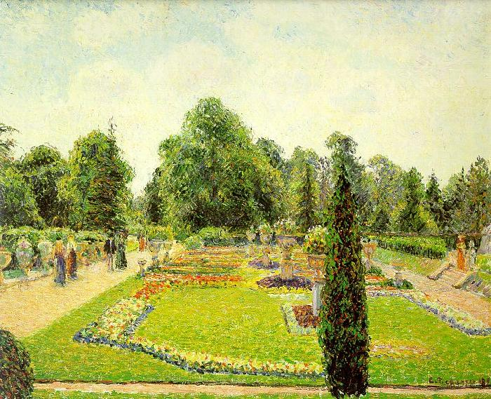 Camille Pissaro Kew, The Path to the Main Conservatory Germany oil painting art
