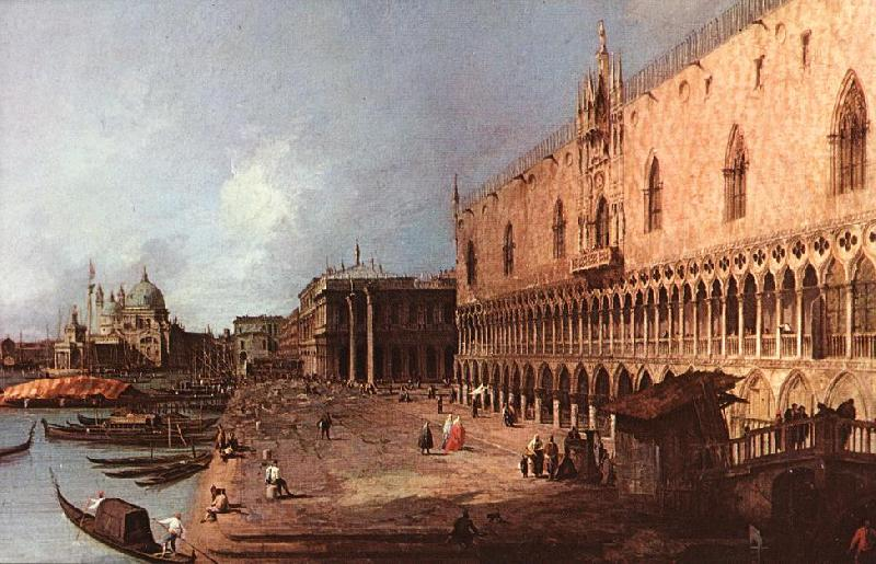 Canaletto Doge Palace d oil painting image