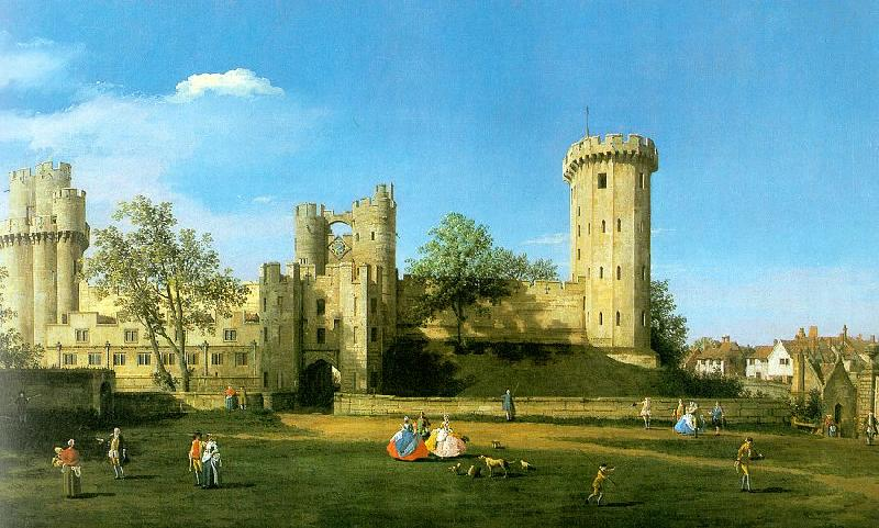 Canaletto Warwick Castle, The East Front oil painting image