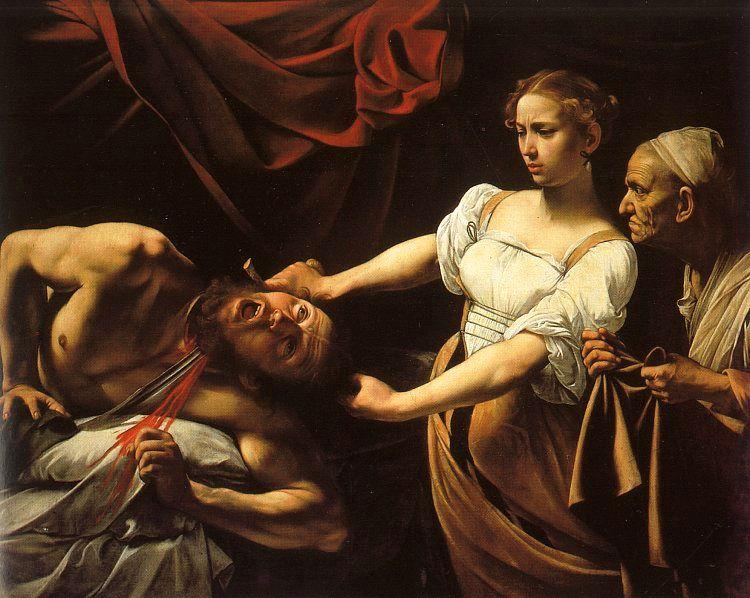 Caravaggio Judith and Holofernes oil painting image