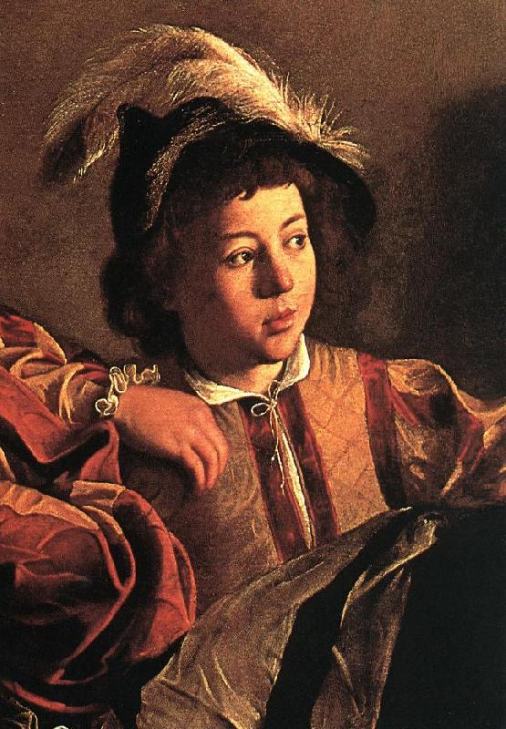 Caravaggio The Calling of Saint Matthew (detail) fdgf oil painting image