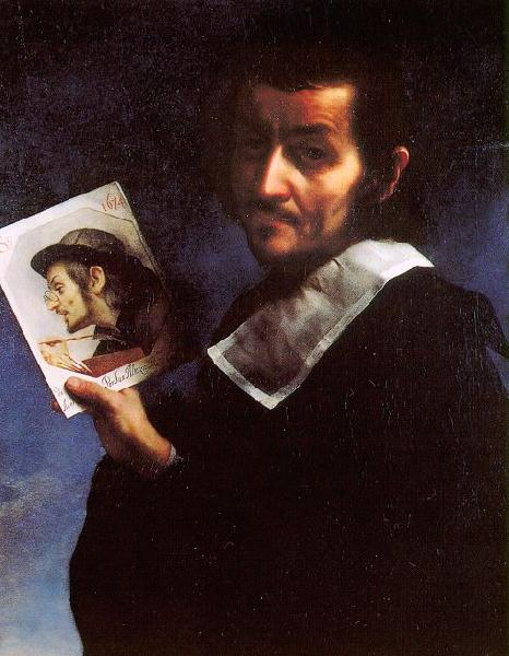 Carlo  Dolci Self Portrait_i oil painting image