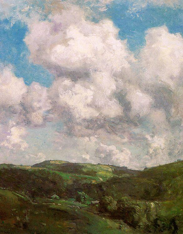 Charles Harold Davis Clouds and Shadow Germany oil painting art