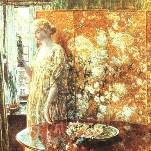 Childe Hassam Tangara Germany oil painting art