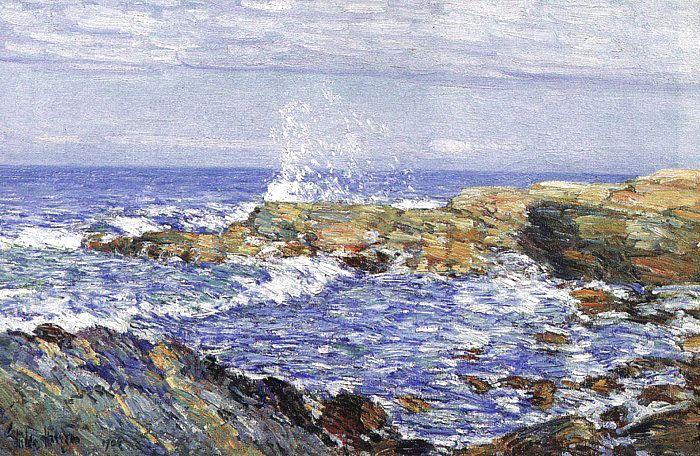Childe Hassam Isles of Shoals Germany oil painting art