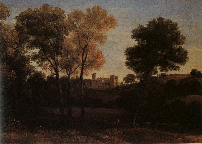 Claude Lorrain View of La Crescenza oil painting image