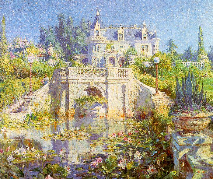 Colin Campbell Cooper A California Water Garden at Redlands Germany oil painting art