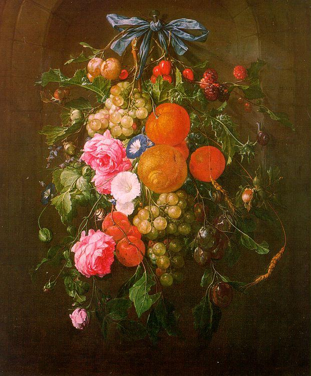Cornelis de Heem Still Life with Flowers oil painting image