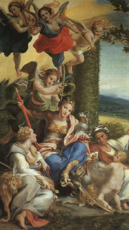 Correggio Allegory of Virtue oil painting image