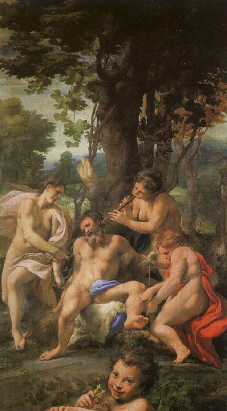 Correggio Allegory of Vice oil painting image