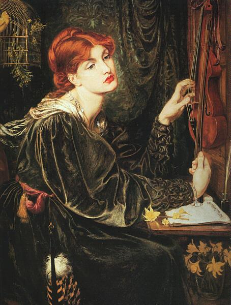 Dante Gabriel Rossetti Veronica Veronese Germany oil painting art