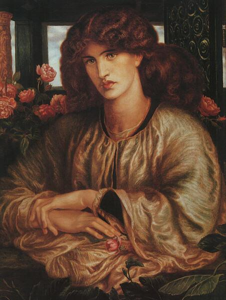 Dante Gabriel Rossetti La Donna Della Finestra Germany oil painting art