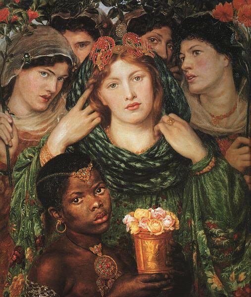 Dante Gabriel Rossetti The Beloved Germany oil painting art