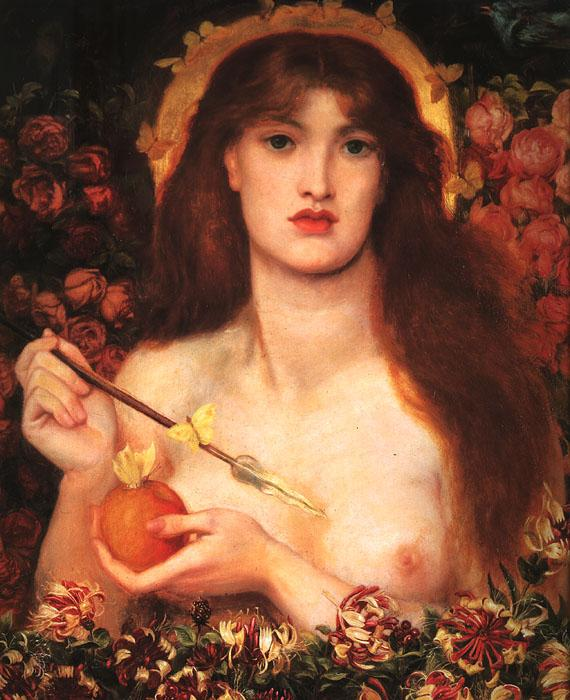 Dante Gabriel Rossetti Venus Verticordia Germany oil painting art