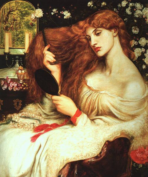 Dante Gabriel Rossetti Lady Lilith Germany oil painting art