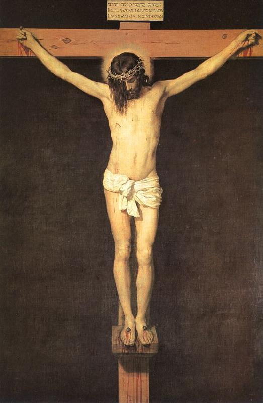 Diego Velazquez Christ on the Cross oil painting image