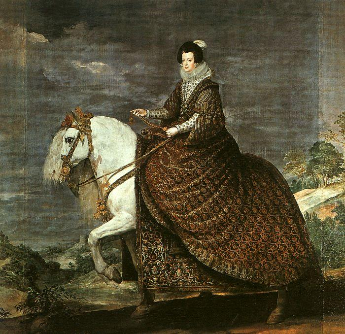 Diego Velazquez Queen Isabella of Bourbon oil painting image