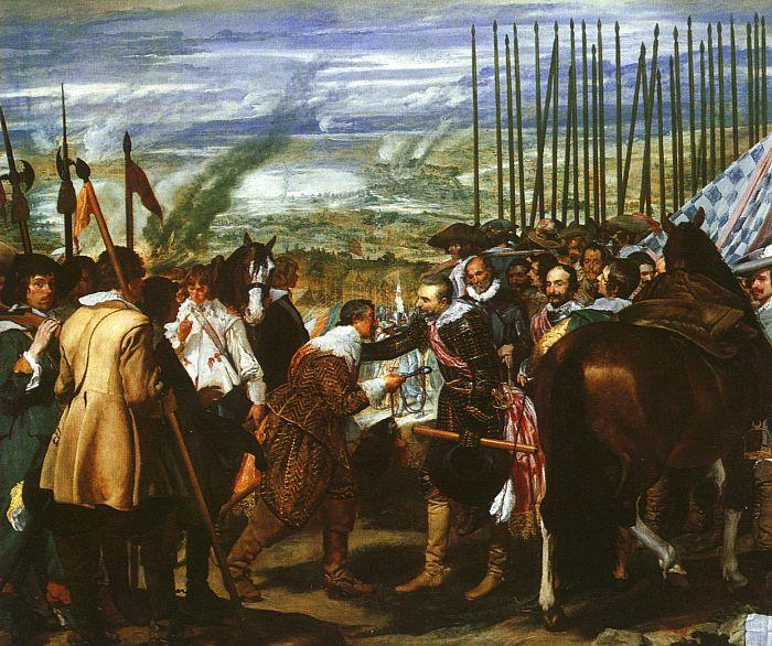 Diego Velazquez The Surrender of Breda oil painting image