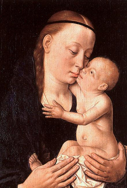 Dieric Bouts Virgin and Child oil painting image