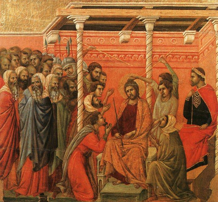 Duccio di Buoninsegna Crown of Thorns oil painting image