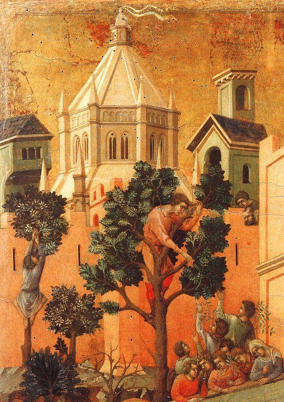 Duccio di Buoninsegna Entry into Jerusalem oil painting image