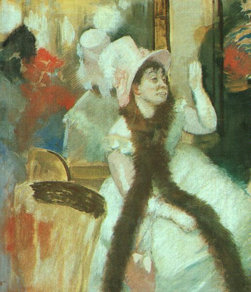 Edgar Degas Portrait after a Costume Ball Germany oil painting art