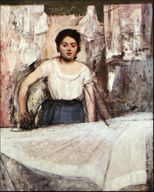 Edgar Degas A Woman Ironing Germany oil painting art